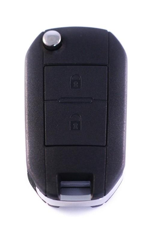 Peugeot klapsleutel ombouwset 106 206 107 307