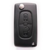 Peugeot klapsleutel 207, 307, 308, 407, 3008, Partner